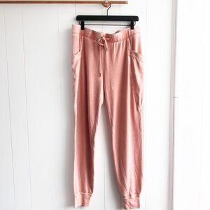 NWT Ugg Pink Sybelle Heathered Jogger Pants